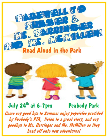 Farwell Read Aloud Flyer